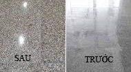hóa chất phủ bóng sàn đá granite