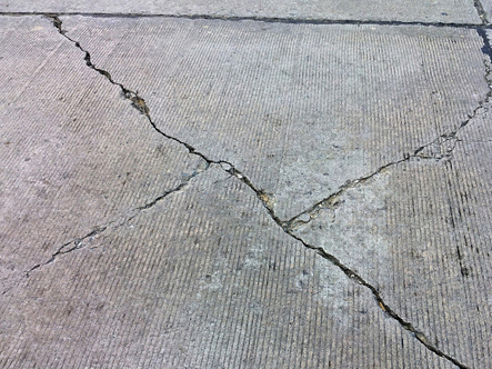 vết nứt sàn bê tông
