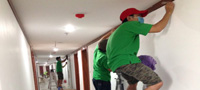 phương pháp vệ sinh tường trần nhà cửa tại tphcm