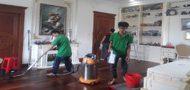 dịch vụ vệ sinh công nghiệp sau cây dựng tại tiền giang