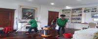 dịch vụ phủ bóng sàn gỗ tự nhiên